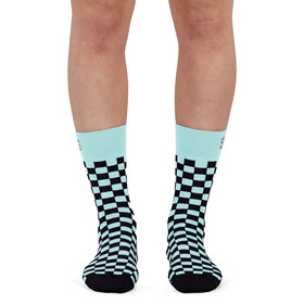 Sportful Checkmate Socks Women, blue sky black